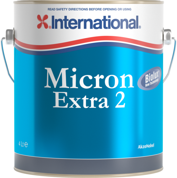 Micron Extra 2 Antifouling Boat Paint | International