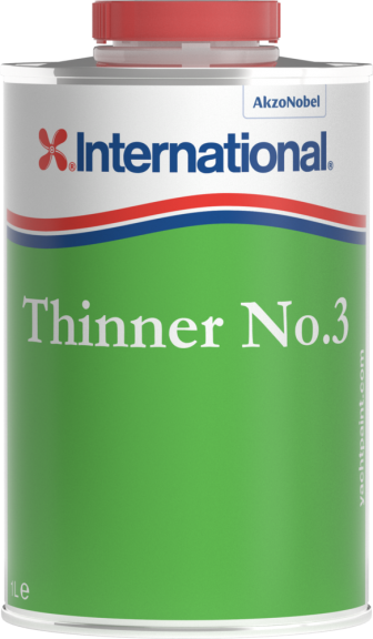 Thinner No  3 for Boat Paint | International