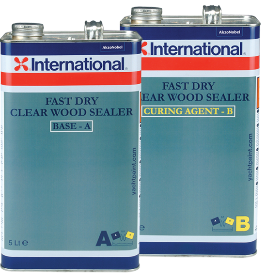 Clear Wood Sealer Fast Dry